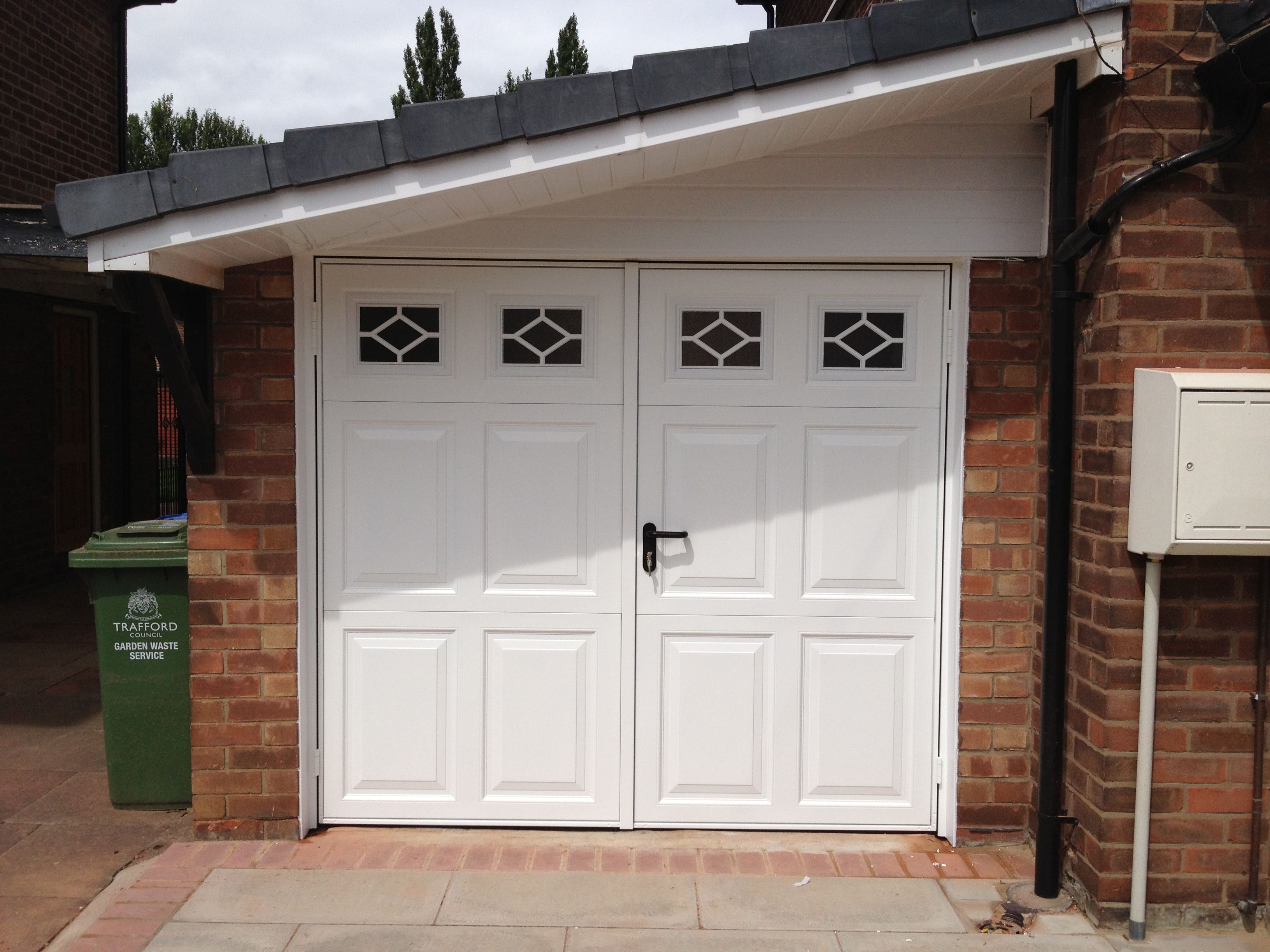 Garage doors seven essential tips for improving security for Garage side entry door