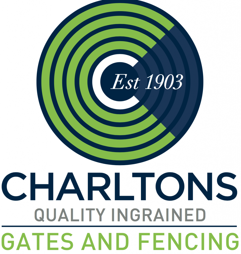 Image of Charlton Gates and Fencing logo, National Home Security month sponsor