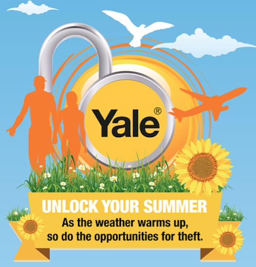 Summer Security Infographic From Yale UK