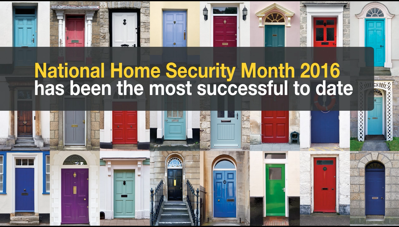 Success for National Home Security Month 2016!