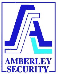 Image of Amberley Security logo, National Home Security month sponsor