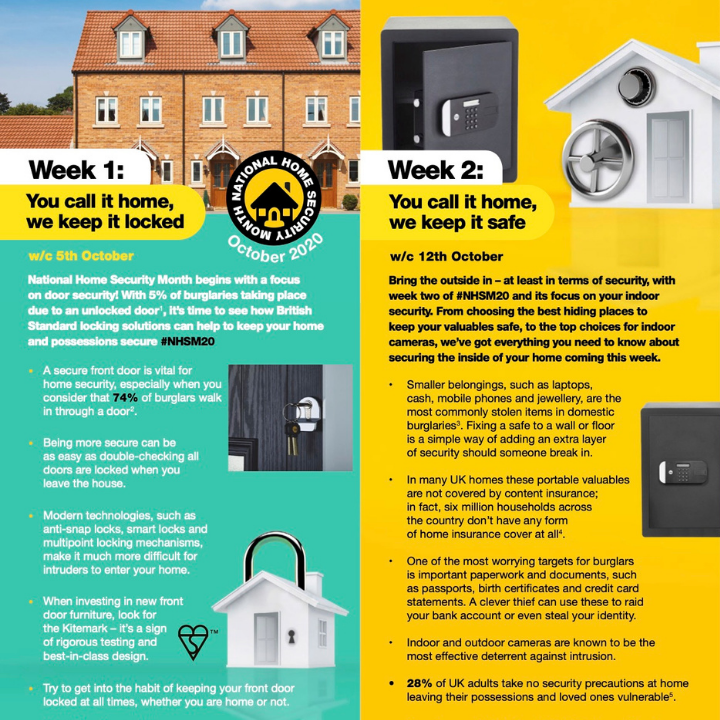 Thumbnail image of National Home Security Month overview leaflet