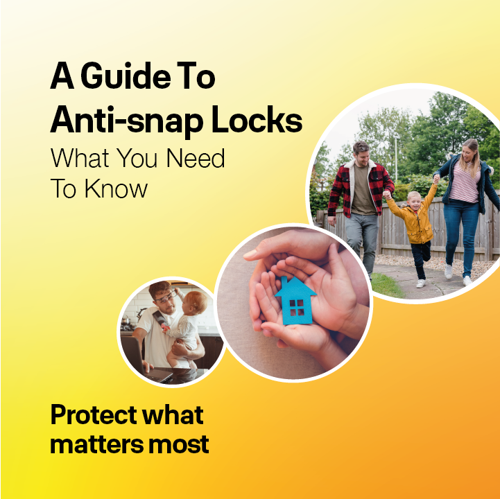 National Home Security Month anti snap lock guide front cover
